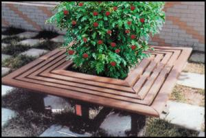 China Park Bench  WPC Outdoor Furniture on sale