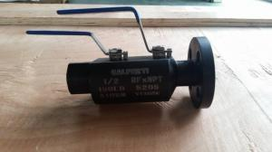 China One End Flange One End SW 300lb Double Block And Bleed Valve on sale
