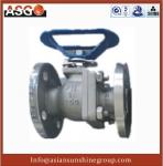 China Special Material Ck20(f310) Dn12~4, Api 2 Pcs Float Ball Valve Cast Steel Ball Valve–ASG wholesale