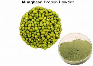 China Lowering Blood Fat Organic Plant Protein Powder Mung Bean Protein Powder 75% Protein supplier