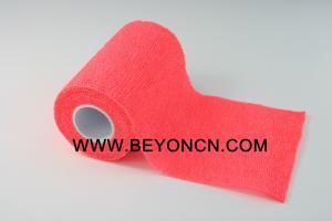 China Soft Eco Friendly Cohesive Bandage Tape No Irritation To Skin on sale