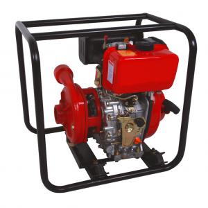 China 1.5x1.5 inch diameter 171mm impeller cast iron high pressure centrifugal water pump with diesel engine on sale