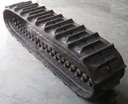 China Rice/Wheat harvester rubber crawler  track on sale