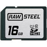 China Hoodman 16GB SDHC Card RAW STEEL Class 10 UHS-1 Price $20.5 wholesale