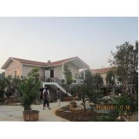 light steel prefab house villa, new trend of the light steel villa