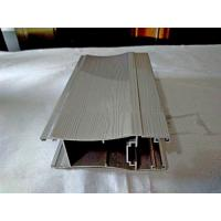 Aluminium profile for sliding doors China colorful wooden grain finish aluminium profiles