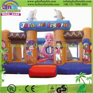 China Outdoor Inflatable Sports Games Inflatable Toy Bouncer Commercial Grade on sale