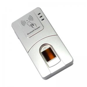 China HF-7000 Free SDK Wireless RFID Card CE Certification Alloy Bluetooth Fingerprint Reader on sale