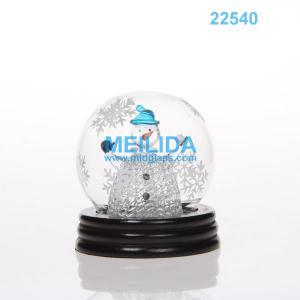 China 2015 newest LED christmas glass ornament on sale