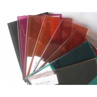 Opaque Laminated Safety Glass Tinted Pvb Interlayer Laminated Glass