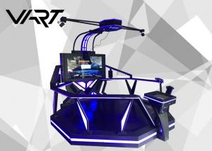 China 60 HD Large Screen Virtual Reality Simulator / VR Treadmill Machine CE RoHS on sale