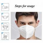 5 Layer EarLoop Non Woven Dustproof KN95 Face Mask