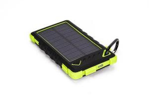 China 8000mAh Portable Solar Panel Charger External Battery Power Bank Backup for iPhone 6 5S 5C on sale