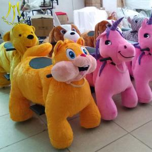 China Hansel shopping mall coin animal baby toy machine electric ride on unicorn on sale