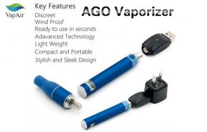 China Rechargeable Dry Herb Vaporizer , AGO Pen Electronic Cigarette on sale
