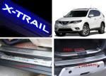 NISSAN X-TRAIL 2014 2017 Tail Gate and Side Door Sill Steel Scuff Plates