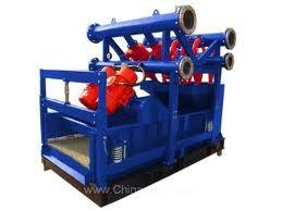 China Second grade separation equipment Drilling Mud Cleaner for desilter cone, desander cone on sale