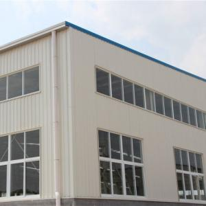 China Customized Size Poultry Farm House With Steel Tiles Shot Blasting And Painting on sale
