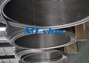 Quality TP316 / 316L Stainless Steel Welded Super Long Coiled Tube For Petrochemical for sale