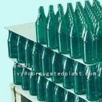 Pallet layer pad pp round corner corrugated plastic dividers