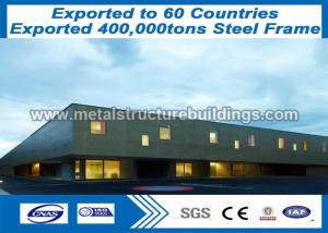 China Steel Pipe Structures Steel Metal Buildings Wind Resistance Sale To Romania on sale
