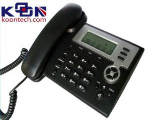 China CDMA VOIP SIP Phone Support IAX2 MWI SMS , IP Office Telephone System on sale
