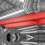 Heavy Duty Long service life 75Tons Workshop QD Hook electric Double Girder Beam Bridge Overhead Crane With Hook