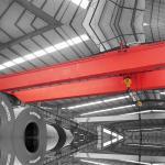 Long Service Life 75Tons QD Double Girder Beam Bridge Overhead Crane With Hook
