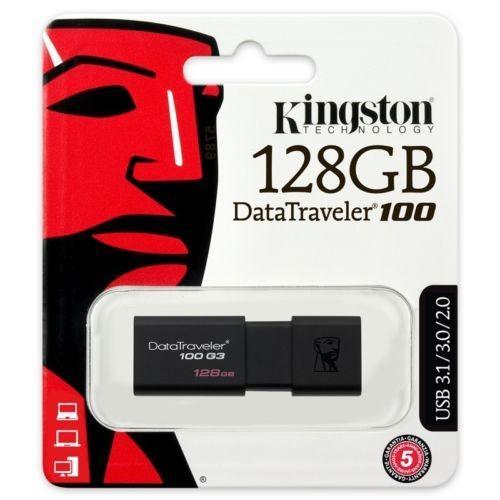 Kingston 16GB DataTraveler DT 100 G3 USB 3.0 Flash Pen Key Drive Memory Stick