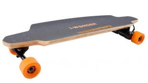 China Dual Motor Kids Electric Skateboard Four Wheel With Lightweight Lithium - Ion Batteries on sale