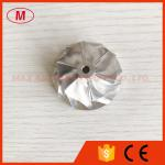 TD025 9T-SB 33.83/44.01mm 6+6 blades turbo billet/milling/aluminum 2618 compressor wheel for 49173-02401