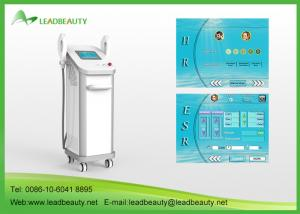 China 3000W power SHR Hair Removal Machine Semiconductor + water + Air Cooling triple systems on sale