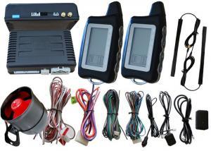 China Pke RFID Car Alarm System With Double Way Alarm Hints , Microwave Sensor Car Alarm Kits on sale