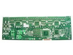 China High TG HASL LF double sided FR4 Controlled Impedance PCB board 0.075mm (3mil) on sale