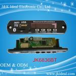 China JK6836BT usb tf card fm bluetooth module mp3 decoder board wholesale
