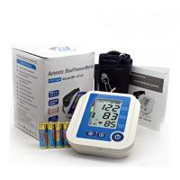 China Phonetic Automatic Digital Blood Pressure Monitor 199 Times Memory ABS Plastic Material on sale