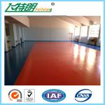 Waterproof Silicone PU Sport flooring Material for Indoor Badmintion Court