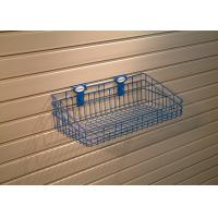 Enviroment-Friendly Blue Garage Wall Panels For Tool Storage Easily To Drywall