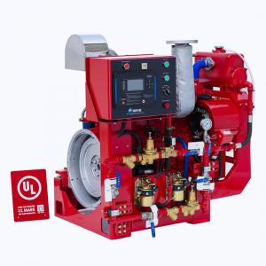 NM Fire Ul Listed Fire Pump Diesel Engine Stable Performance