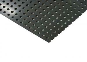 China ISO9001 20mm Perforated PVC Sheet For Plastic Filters on sale