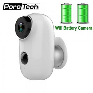 China 2019 Newest Rechargeable Battery Camera A3 720P Waterproof Outdoor Indoor Wifi IP Camera 2 Way Audio Baby Monitor Camera on sale