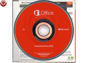 China DVD + Key Card Microsoft Office 2016 Retail Box 32 Bit / 64 Bit on sale