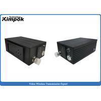 H.264 2W Mini COFDM Transmitter , RF SD Digital Video Transmitter And Receiver