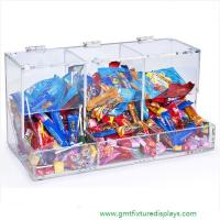 Acrylic Candy Box Candy Bin Candy Display Bulk Candy Display Case for Retail Store or Supermarket