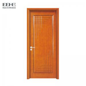China Low Maintenance Oak Veneer Hollow Core Doors , Long Life Hardwood Interior Doors on sale