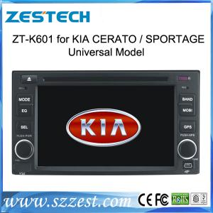 China ZESTECH OEM car multimedia for Kia Rondo car audio video gps navigation in-dash dvd players car automobile on sale