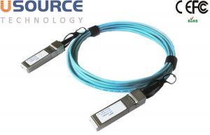 Quality 100G QSFP28 to QSFP28 AOC Active 10M length QSFP+AOC Fiber Optical Cable for sale