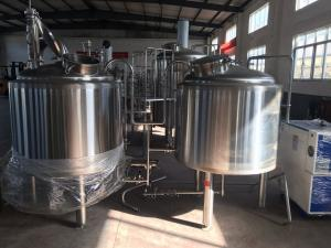 China 500L 1000L Craft Small Microbrewery Equipment , Beer Micro Brewing Systems on sale