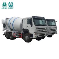 4 Stroke Diesel Engine Concrete Mixer Truck With One Sleeper And Two Seats