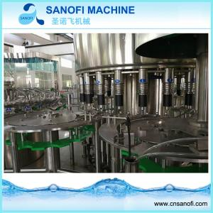 China Carbonated Gas Water Beverage Filling Bottling Machine From China Factory on sale